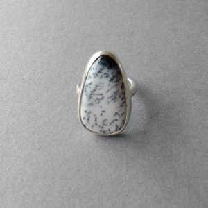 Silver Dendritic Opal